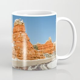 Entrance to Red Canyon, Utah, on Scenic Byway 12 Coffee Mug