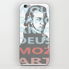 Wolfgang Amadeus Mozart iPhone Skin