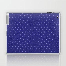 Mini Anchors in the Blue Laptop & iPad Skin