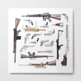 Toy guns Metal Print