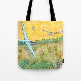 Flying Dreams Tote Bag