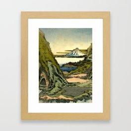 Morning at Sin Ruido Framed Art Print