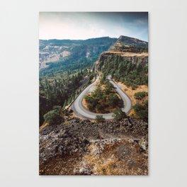 rowena crest landscape Canvas Print