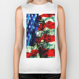 Military Branches of Service Biker Tank