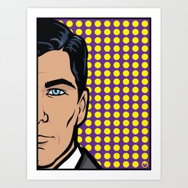 Sterling Archer of ISIS... Art Print