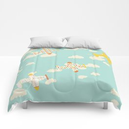 Flying By Comforters