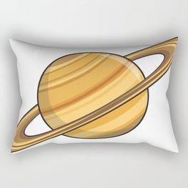 Saturn Icon Rectangular Pillow