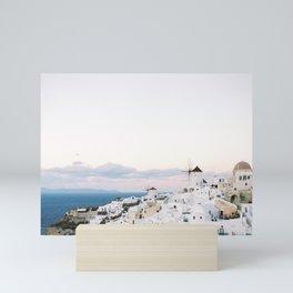 Santorini on Film | Greece Travel photography | Fine Art Europe Cityscape Mini Art Print