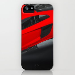 Red Dream iPhone Case