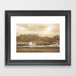 """ Ford Island"" Framed Art Print"