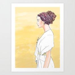 Waiting Art Print
