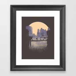 The Last of Us 2 Poster Series - Lev's shortcut Framed Art Print