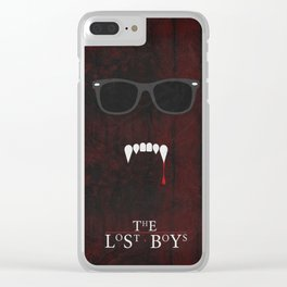 The Lost Boys 01 Clear iPhone Case