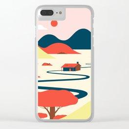 Farmhouse Clear iPhone Case