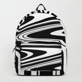 Stripes, distorted 6 Backpack