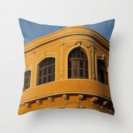 Mexico Yellow Throw Pillow