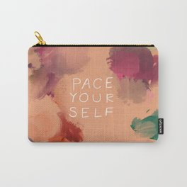 Pace Yourself Carry-All Pouch