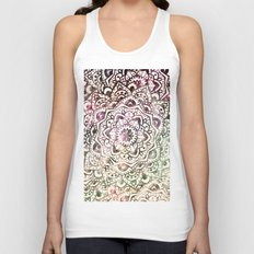 STARRY DAY MANDALA Unisex Tank Top