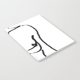 abstract nude Notebook
