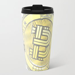 BITCOIN — VIRES IN NUMERIS Travel Mug