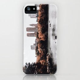 autumn in new york city iPhone Case