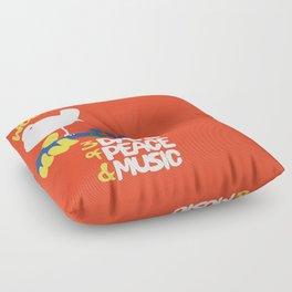 Woodstock 1969 Floor Pillow