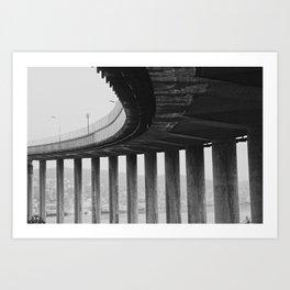 Tromsø bridge 1 Art Print