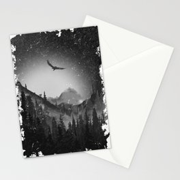 Night Forest Enduro Stationery Cards
