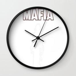 Leatherhead Mafia Wall Clock