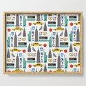 NYC travel pattern fun kids decor boys and girls nursery new york city theme by charlottewinter