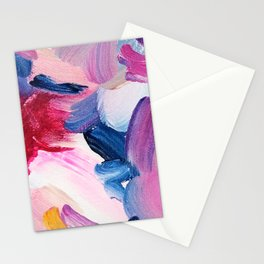 Lottie Abstract Painting Stationery Cards