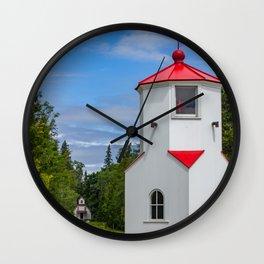 Baileys Harbor Lights Wall Clock