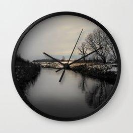 The Creek Wall Clock