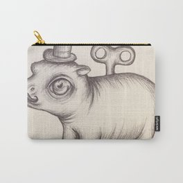 Wind Up Hippo Carry-All Pouch