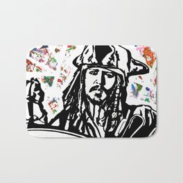 Jack Sparrow....Captain Jack Sparrow.. Bath Mat