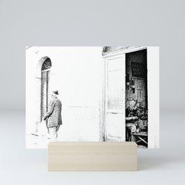 Vulture: old shoemaker and old man Mini Art Print