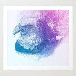 Animal Spirit Eagle Art Print