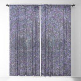 Worm Hole 3 Sheer Curtain
