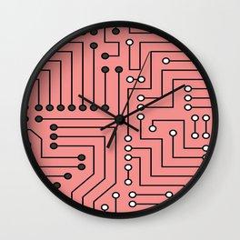 lost way pattern Wall Clock