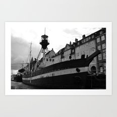 Light Ship Art Print