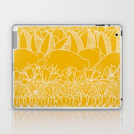 Sunshine Lemonade Garden Laptop & iPad Skin