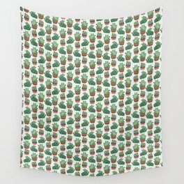 Cacti Cat pattern Wall Tapestry