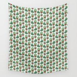 Cacti Cat pattern Wandbehang