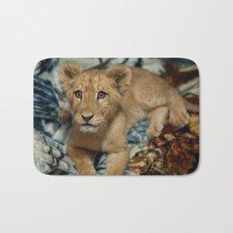 Lambert the Lion and His Blanket Bath Mat
