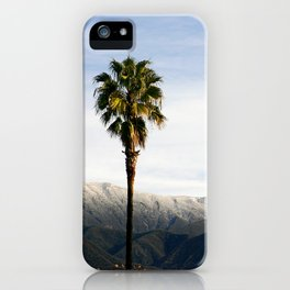 Southern California Snow iPhone Case