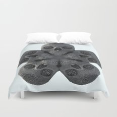 Skull Mandala Test No.2 Duvet Cover