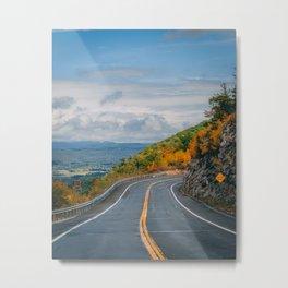 Route 52 Autumn Metal Print