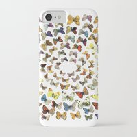 butterflies iPhone & iPod Cases featuring Butterflies by Ben Giles