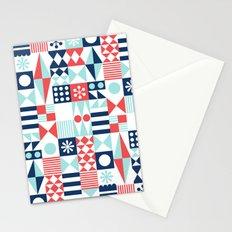 Tradewinds navy Stationery Cards
