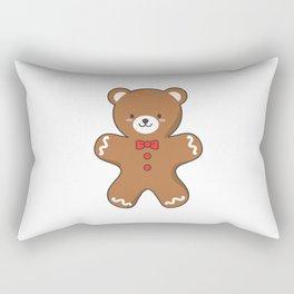 Ginger-Bear Cookie Rectangular Pillow